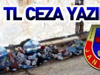 203 TL CEZA YAZILDI