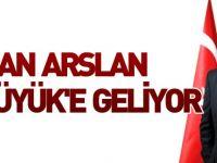 BAKAN ARSLAN BOZÜYÜK'E GELİYOR