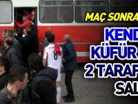 KENDİSİNE KÜFÜR EDEN 2 TARAFTARA SALDIRDI