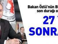 27 YIL SONRA...