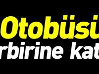 OTOBÜSÜ BİRBİRİNE KATTI!