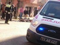 Motosikletle çarpışan otomobilin sürücüsü olay yerinden kaçtı