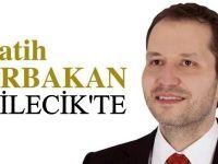 ERBAKAN BİLECİK'E GELİYOR