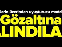 İKİ GENÇ GÖZALTINA ALINDI