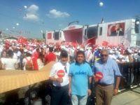 MV. TÜZÜN'DEN MİTİNG AÇIKLAMASI