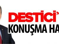 DESTİCİ'YE KONUŞMA HAKKI