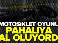 MOTOSİKLET OYUNU PAHALIYA MAL OLUYORDU