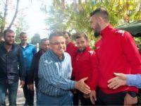 BAŞKAN'DAN BİLECİKSPOR'A JEST