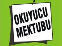 OKUYUCU MEKTUBU - AÇIK MEKTUP