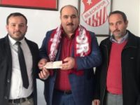 FİKRET AKTAŞ'TAN BİLECİKSPOR'A DESTEK