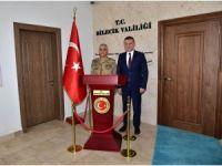 ORGENERAL ÇETİN, VALİ BÜYÜKAKIN'I ZİYARET ETTİ