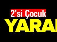 BİLECİK'TE TRAFİK KAZASI 2Sİ ÇOCUK 5 KİŞİ YARALANDI