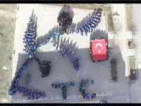 LİSE ÖĞRENCİLERİNDEN AFRİN'E DESTEK KLİBİ