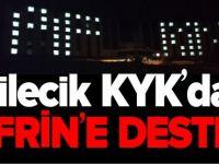 BİLECİK KYK'DAN AFRİN'E DESTEK