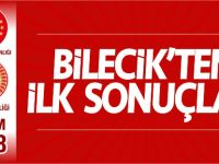 BİLECİK'TEN İLK SONUÇLAR