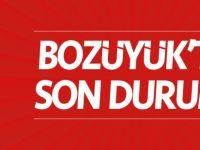 BOZÜYÜK'TE SON DURUM