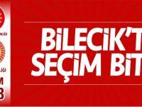 BİLECİK'TE SEÇİM SONA ERDİ