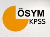 KPSS SINAV YERLERİ BELLİ OLDU
