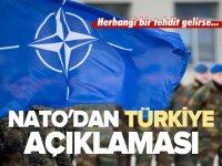 NATO'DAN TÜRKİYE AÇIKLAMASI