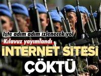 İNTERNET SİTESİ ÇÖKTÜ