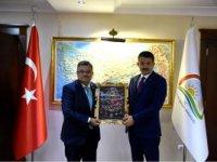 MV. YAĞCI'DAN BAKAN PEKDEMİRLİ'YE ZİYARET