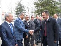 VALİ ŞENTÜRK, ÖZEL İDARE'DEN BRİFİNG ALDI