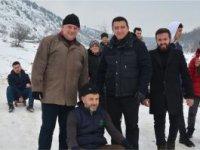 KANDİLLİ KÖYÜ'NDE KIZAK FESTİVALİ