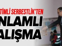 DENETİMLİ SERBESTLİK'TEN ANLAMLI ÇALIŞMA