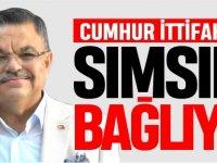 'CUMHUR İTTİFAKINA SIMSIKI BAĞLIYIZ'