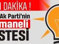 İŞTE AK PARTİ'NİN OSMANELİ LİSTESİ