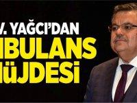MV. YAĞCI'DAN AMBULANS MÜJDESİ