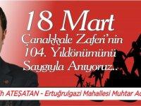 FATİH ATEŞATAN - 18 MART REKLAM