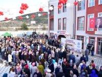 İSTASYON MAHALLESİ SOSYAL DONATI ALANI AÇILDI