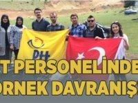PTT PERSONELİNDEN ÖRNEK DAVRANIŞ