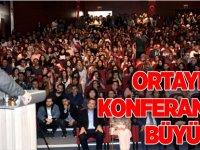 ORTAYLI'NIN KONFERANSINA BÜYÜK İLGİ