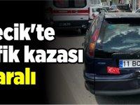 BİLECİK'TE TRAFİK KAZASI 2 YARALI