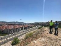 EMNİYETTEN 'DRONE'LU DENETİM!