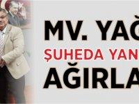 MV. YAĞCI ŞUHEDA YANGIN'I AĞIRLADI