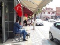 PAZARYERİ BAYRAKLARLA DONATILDI