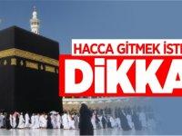 HACCA GİTMEK İSTEYENLER DİKKAT