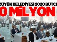 BOZÜYÜK BELEDİYESİ 2020 BÜTÇESİ 120 MİLYON TL