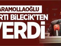 KARAMOLLAOĞLU STARTI BİLECİK'TEN VERDİ