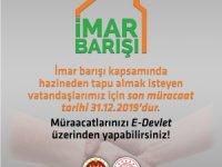 HAZİNEDEN TAPU ALMAK İSTEYENLER DİKKAT!