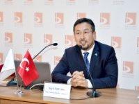 OSMANLI'NIN BEŞİĞİ'NDE DOĞU TÜRKİSTAN'I ANLATTI