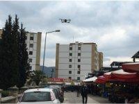 DRONE İLE SOSYAL MESAFE DENETİMİ