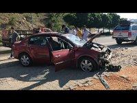 Akasya Altı Mevkiinde Otomobil Takla Attı, 2 kişi yaralandı