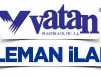VATAN PLASTİK - ELEMAN İLANI