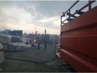 Bilecik'te depo yangını