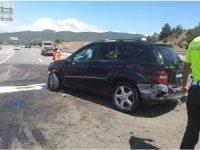 Osmaneli'de trafik kazası 4 yaralı