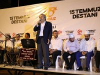 """Osmaneli Belediye Başkanı Münür Şahin,""""15 Temmuz, emperyalizme verilen derstir"""""""